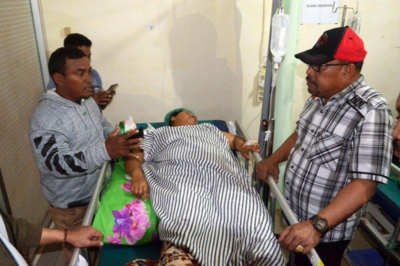 Terdampak gempa, 23 orang meningal dan ratusan luka-luka