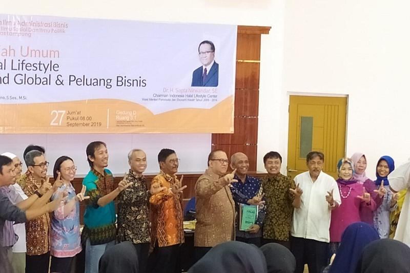 Halal lifestyle peluang bisnis baru di Lampung