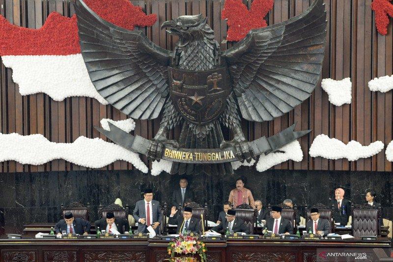 Sidang Paripurna MPR Akhir Masa Jabatan 2014-2019