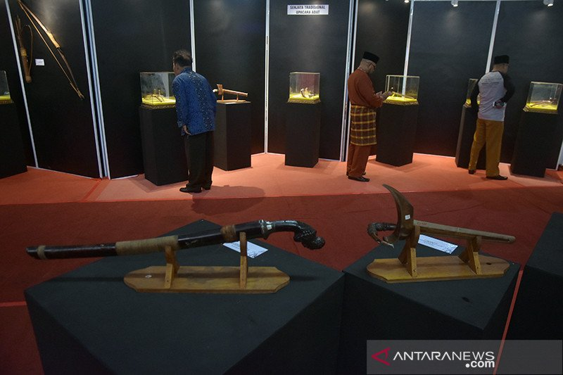 Museum Sang Nila Utama Riau pamerkan senjata tradisional se-Sumatera, begini penjelasannya