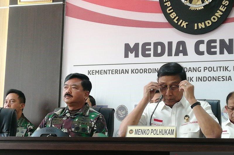 Wiranto sebut Ada upaya adu domba antara TNI dan Polri