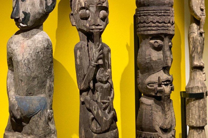 Ratusan artefak kebudayaan Dayak dipamerkan di Swiss