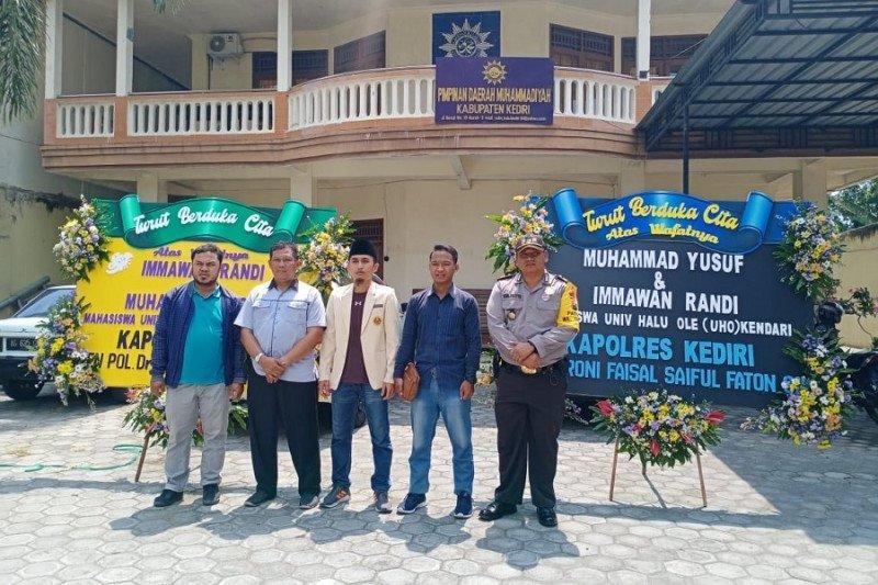 Polisi Kediri gelar Shalat Gaib untuk Imawan Randi