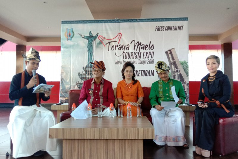 Pemkab gelar Toraya Maelo Tourism Expo di Atrium Mall Trans Makassar