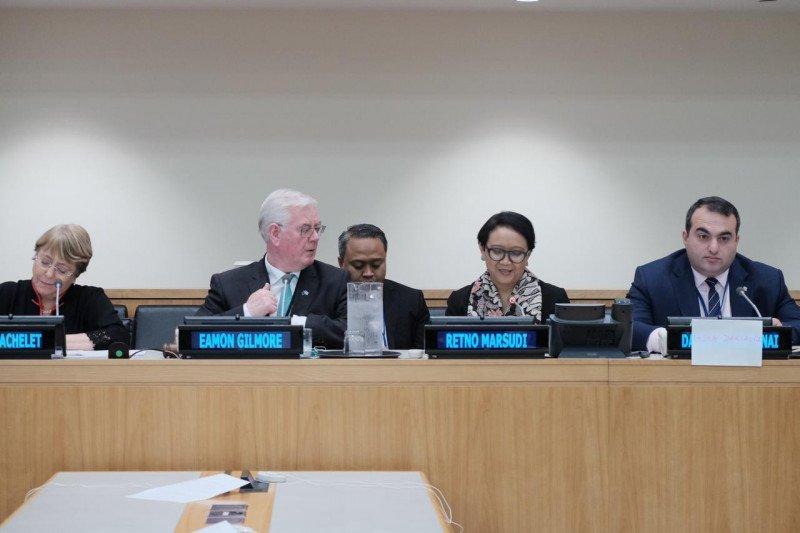Menlu Retno bagi kisah pemberdayaan perempuan Indonesia di PBB