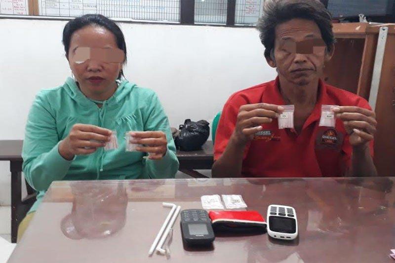 Polres Barito Utara menangkap pria dan wanita pengedar sabu-sabu