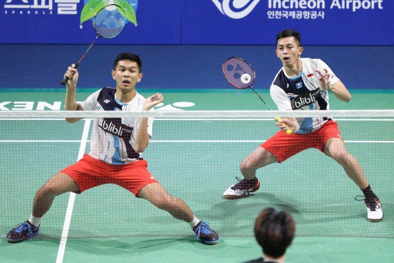 Fajar/Rian kuatkan mental hadapi final KOrea Open 2019
