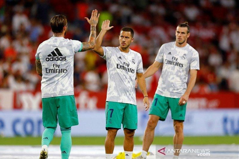 Zidane menilai Hazard pemain yang lahir untuk laga sekelas Derby Madrid