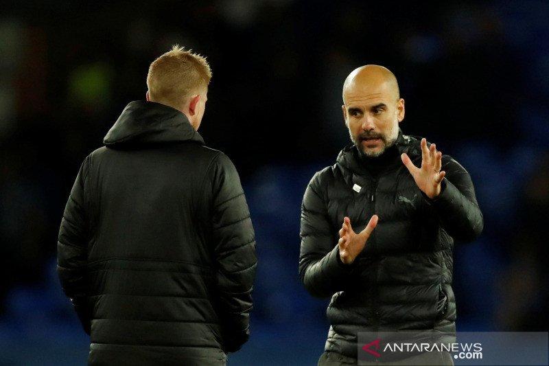 Guardiola: Kurangi jarak lima poin dari Liverpool penting bagi kami