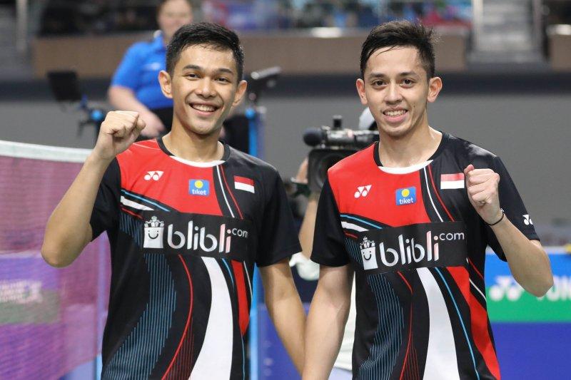 Fajar/Rian targetkan tembus BWF World Tour Finals
