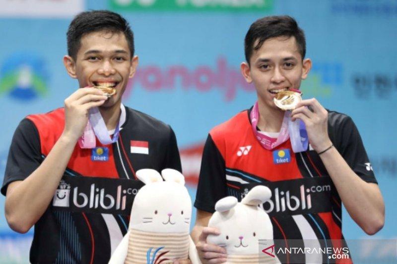 Juara Korea Open, Fajar/Rian tak ingin cepat puas
