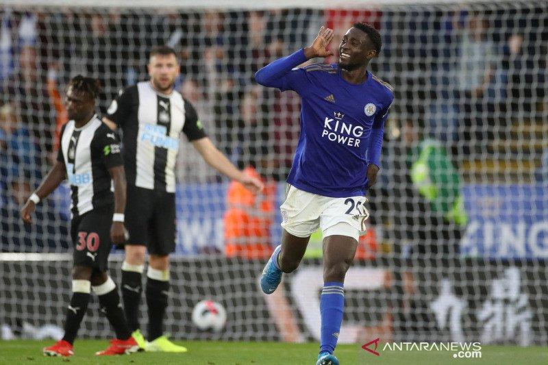 Leicester hajar 10 pemain Newcastle dengan skor maut