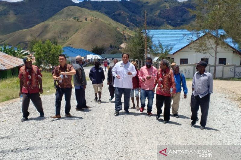 Antisipasi keamanan, Pemkab Lanny Jaya berkoordinasi dengan kadistrik