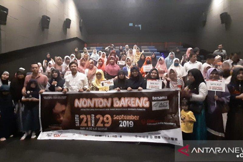 ACT Sumsel kumpulkan donasi dari lelang pada nonton film Hayya