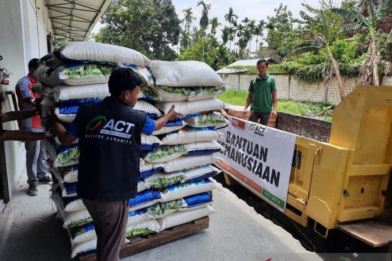 Bantu pengungsi Wamena, ACT distribusikan dua ton beras
