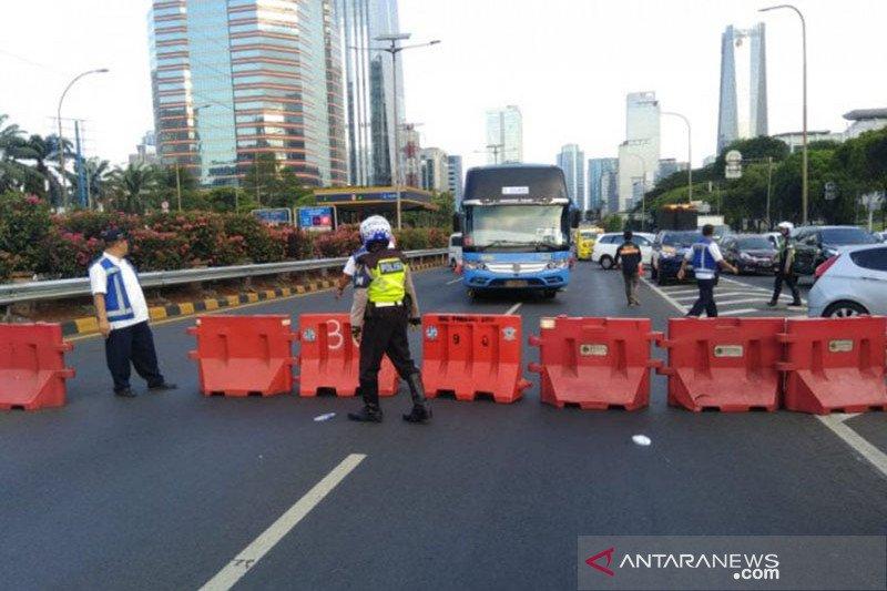 Tol dalam kota Tomang-Cawang tutup, Jasa Marga alihkan lalu lintas