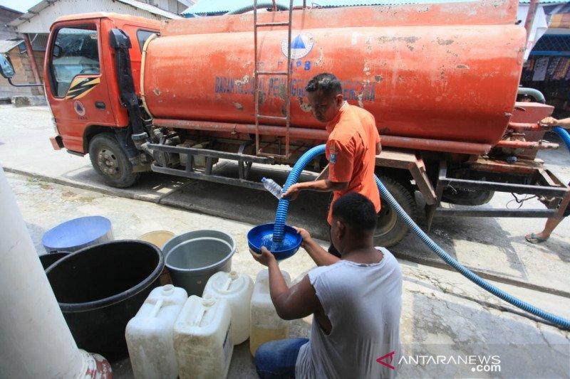 Musim kemarau, BPBD Mentawai distribusi air bersih