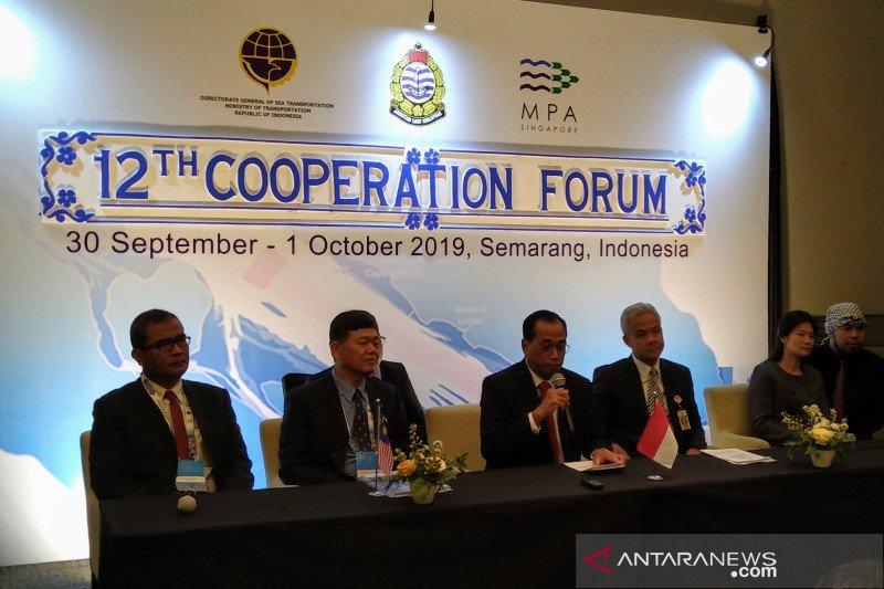 Tiga negara tingkatkan keselamatan pelayaran di Selat Malaka