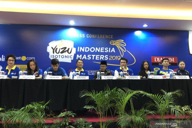 Indonesia Masters 2019 diharapkan jadi wadah pembinaan atlet