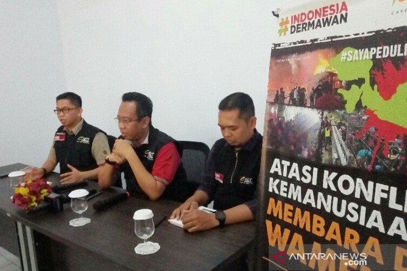 FTI UMI-ACT Sulsel Bangun Posko Pengungsi Di Pelabuhan-Bandara