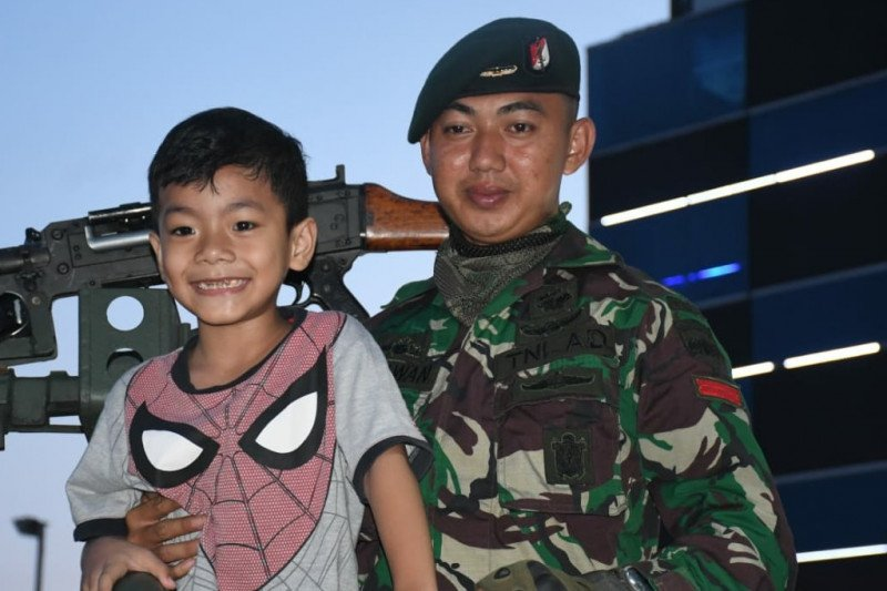 Pangdam I/BB: pameran alutsista membangkitkan kecintaan pada TNI
