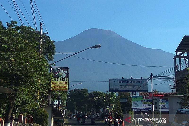 PVMBG sebut aktivitas Gunung Slamet fluktuatif