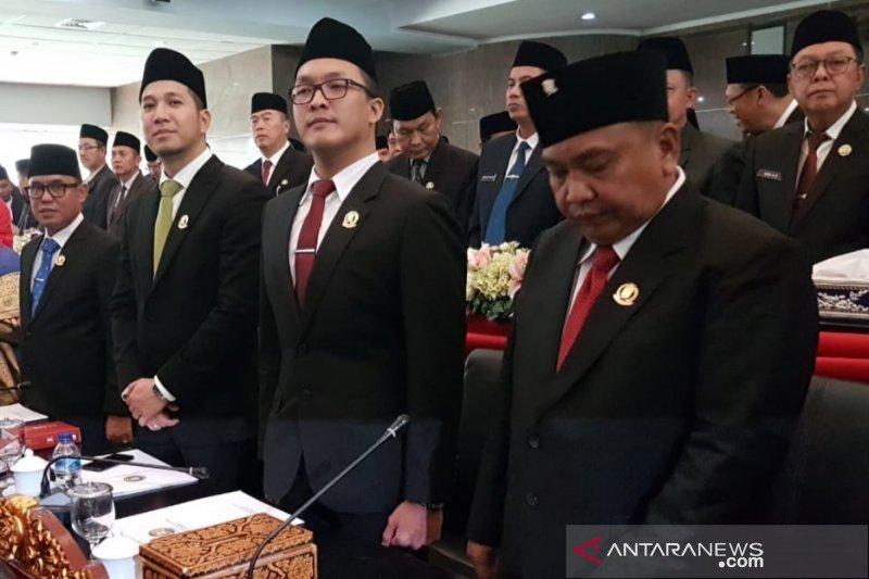 50 anggota DPRD Kota Palembang dilantik