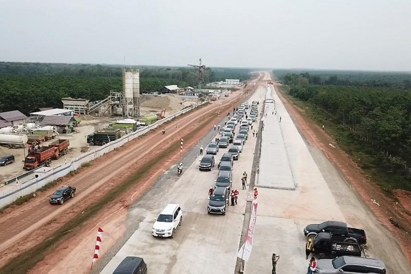 Hutama Karya disuntik Rp10,5 triliun bangun Tol Trans Sumatera