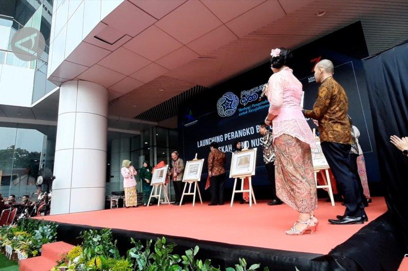 Peluncuran empat prangko seri Naskah Kuno Nusantara