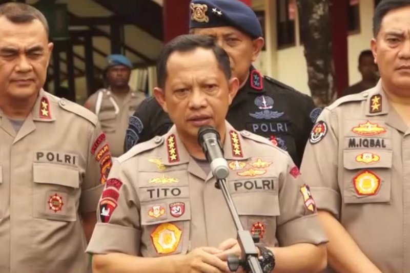 Kapolri sebut 2 kelompok di balik hoaks & kerusuhan di Papua