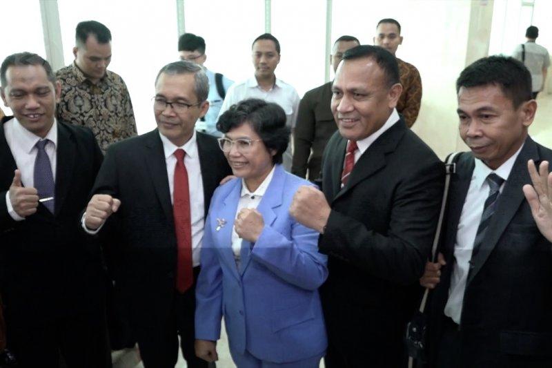 DPR sahkan 5 pimpinan baru KPK