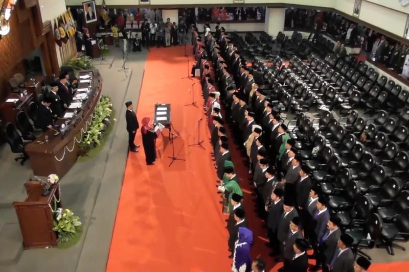 120 anggota DPRD Jateng 2019-2024 dilantik