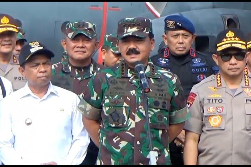 Panglima & Kapolri  pastikan situasi Papua dan Papua Barat kondusif