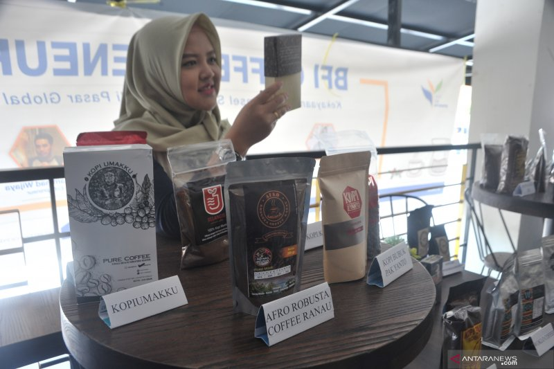 Gubernur Sumsel dukung promosi dan  pengembangan kopi daerah