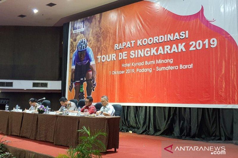 Tour de Singkarak 2019 lewati rute sepanjang 1.363 Kilometer