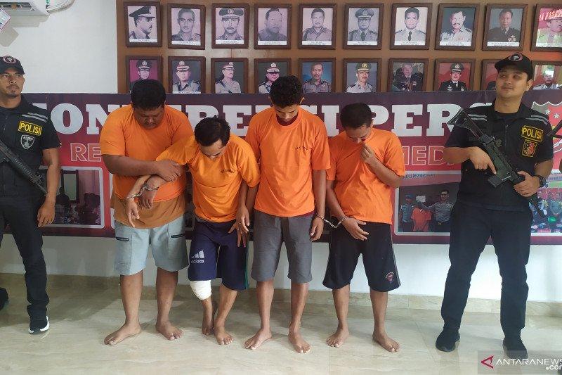 Polisi ringkus enam pencuri Rp1,6 miliar milik Pemrov Sumut