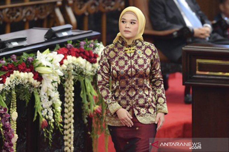 Jialyka Maharani Anggota DPD termuda asal Sumsel