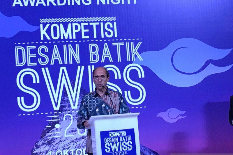 Dubes Swiss terkesan dengan dedikasi perajin pembuat batik