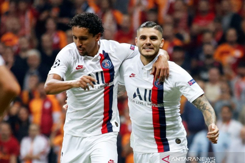 PSG menang di markas Galatasaray berkat gol tunggal Icardi
