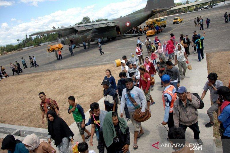 Pengungsi kerusuhan Wamena
