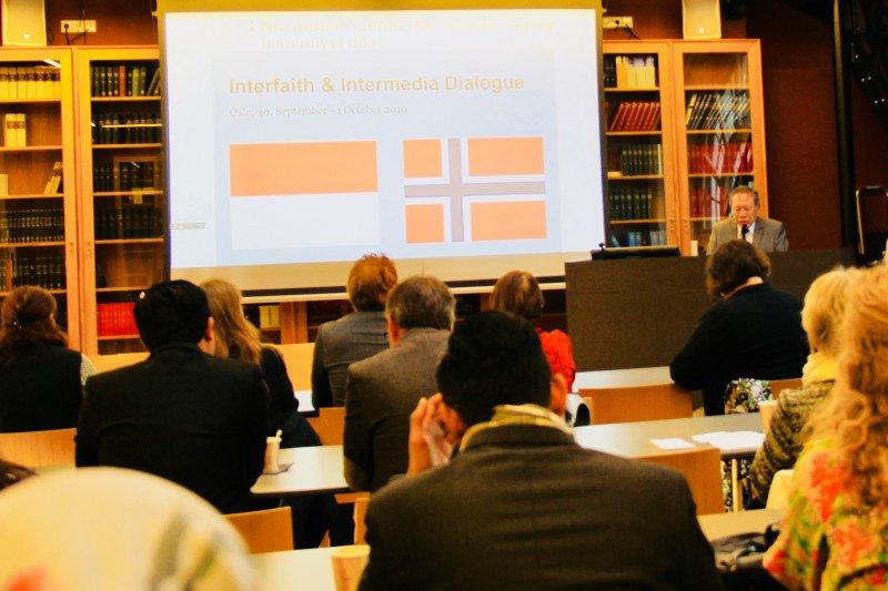 Indonesia-Norwegia dialog lintas agama dan  media