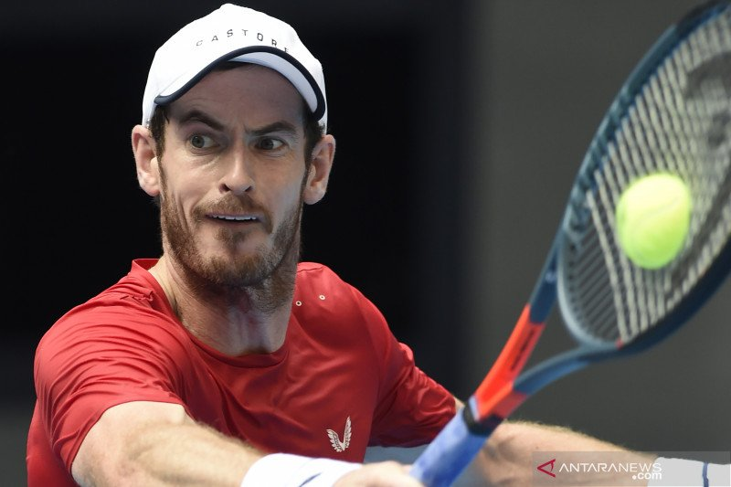 Sejak operasi pinggul, Andy Murray mampu raih gelar ATP