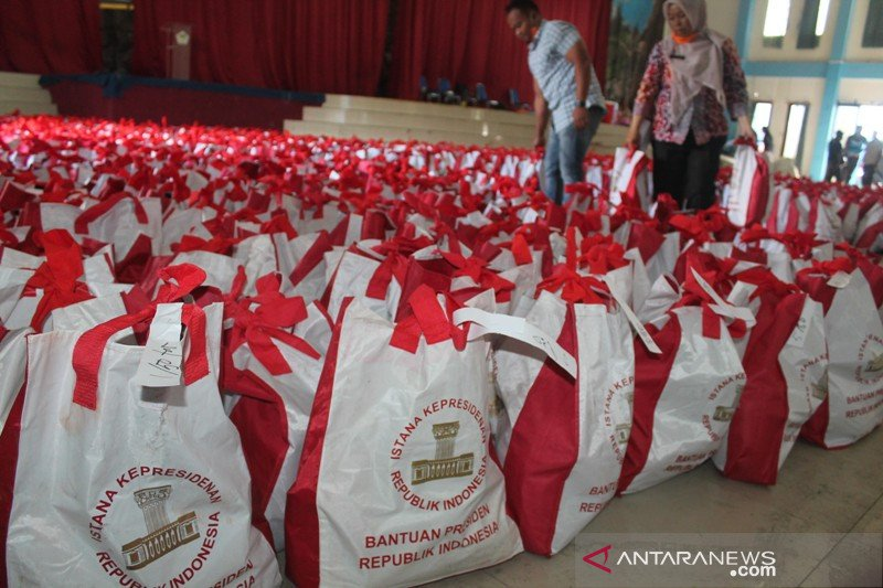 Pemkab Jayawijaya terima 5.000 paket bantuan dari Presiden