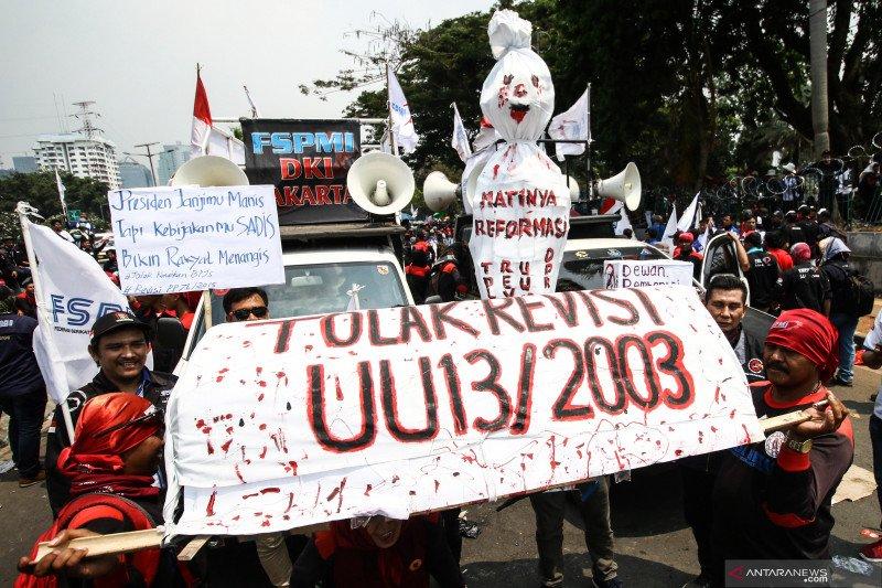 CSIS : demo buruh turunkan kinerja industri