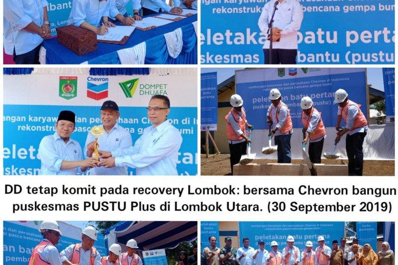 Chevron gandeng Dompet Dhuafa bangun Pustu Plus di Lombok