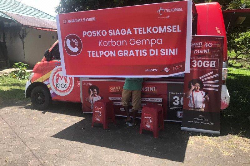 Telkomsel Ambon buka posko layanan telepon gratis