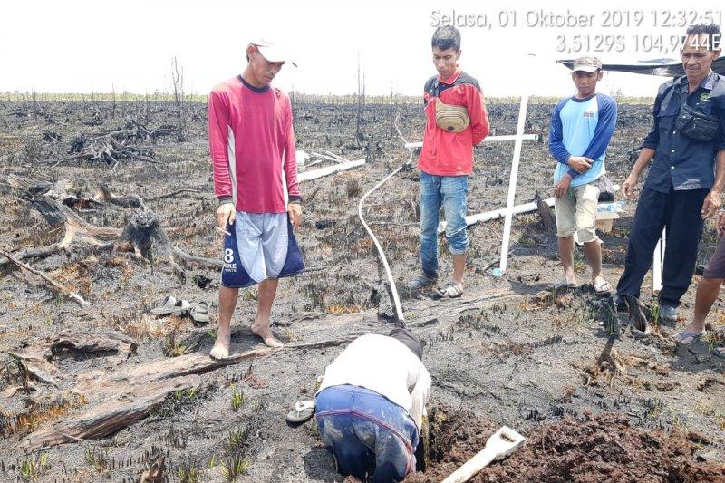 Satgas buat sumur bor daerah  rawan kebakaran