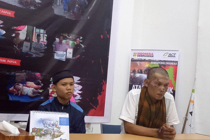 Gian masih tak percaya ibu-adiknya meninggal mengenaskan dalam kerusuhan Wamena