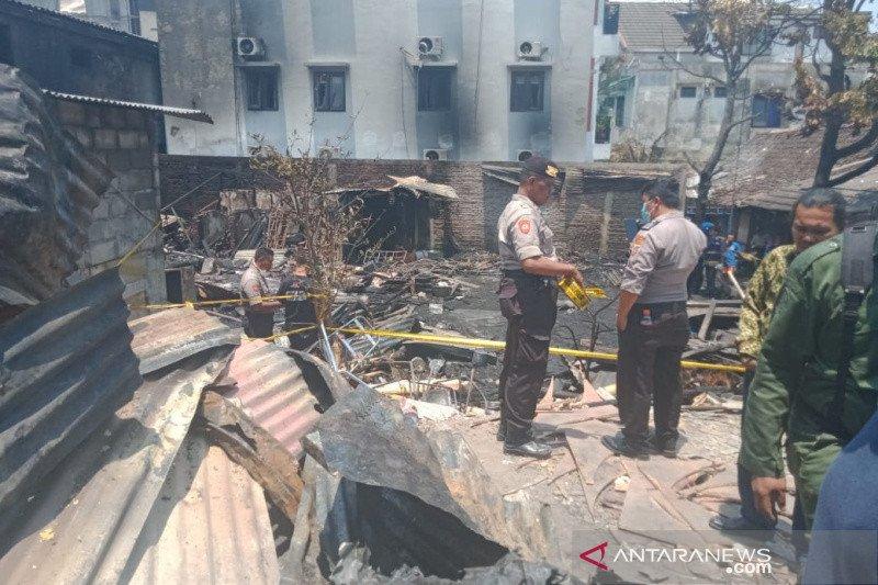 "Gudang di ""Sarkem"" Yogyakarta terbakar, satu orang tewas"