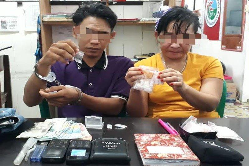 Dua bersaudara jual sabu ditangkap polisi